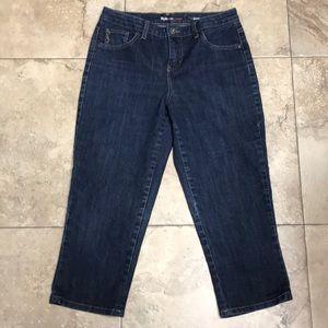 Style & Co. Blue jean capri's
